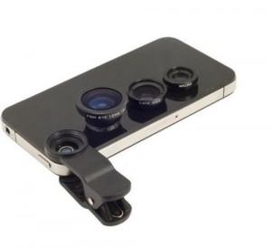 3 klips linse og mobil kamerastativ